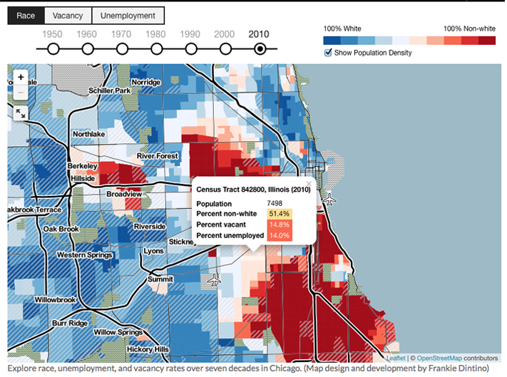 A Case For Reparations, Census Map