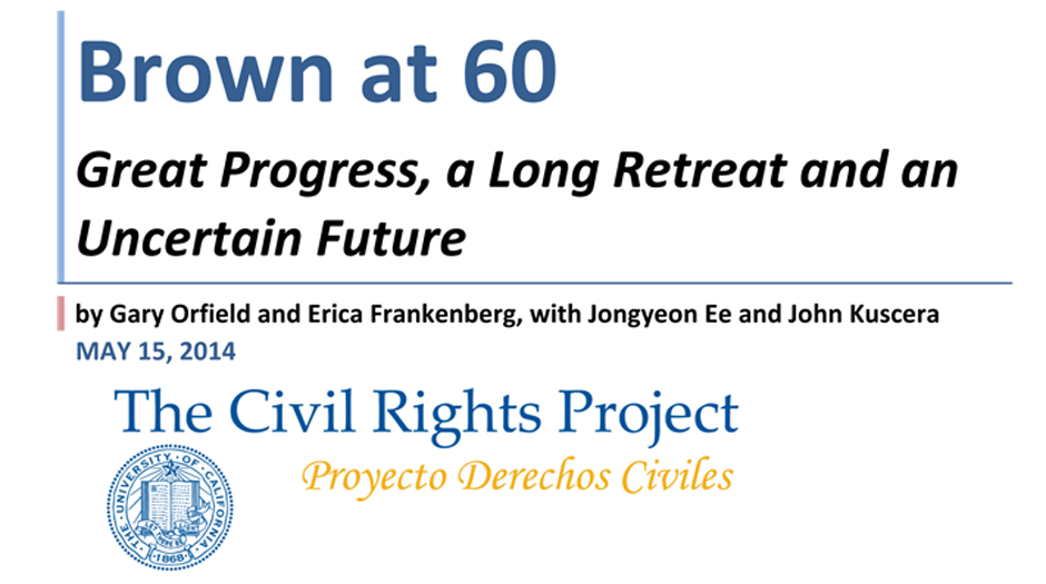 Brown at 60: Great Progress, a Long Retreat and an Uncertain Future