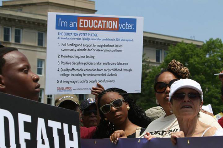 May 13 Rally to Reclaim the Promise of Our Schools