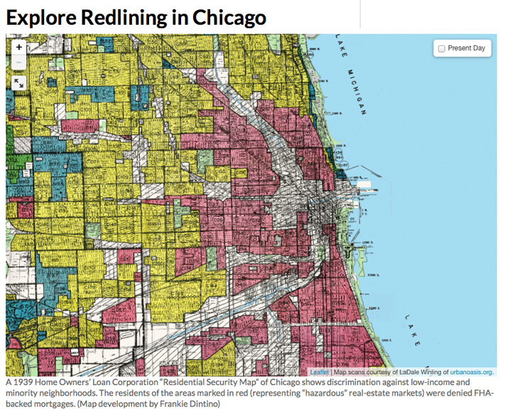 Explore Redlining in Chicago
