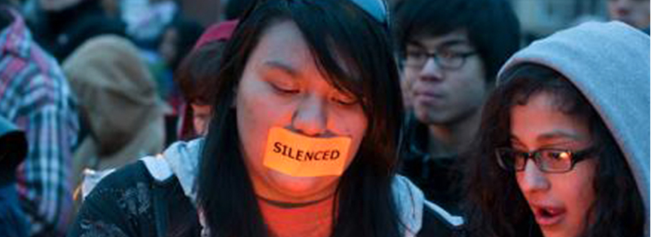 Journey for Justice Students Silenced