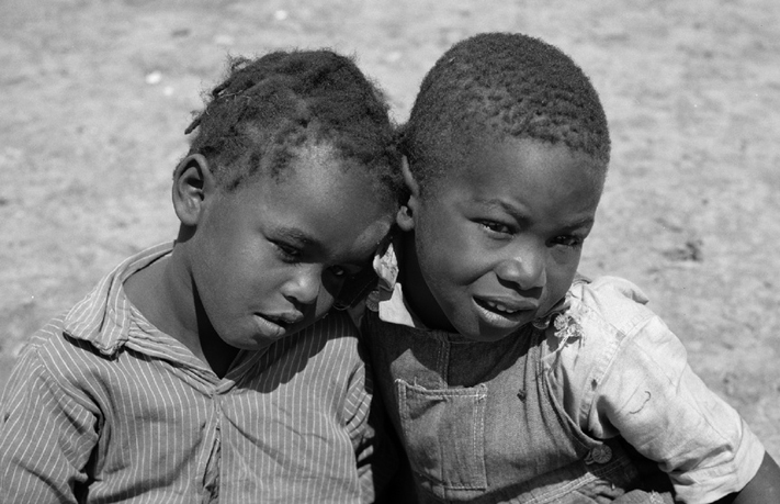 Sharecropper boys in 1936