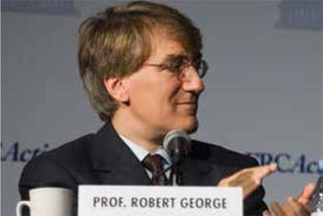 Princeton University Professor Robert George