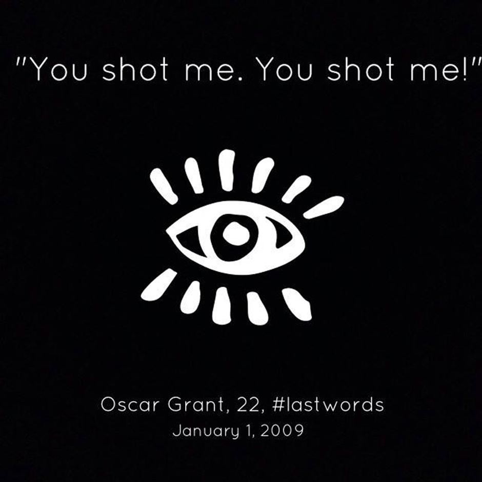 Oscar Grant – #LastWords title