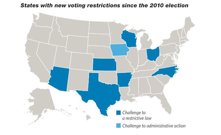 Voter Suppression Court Cases