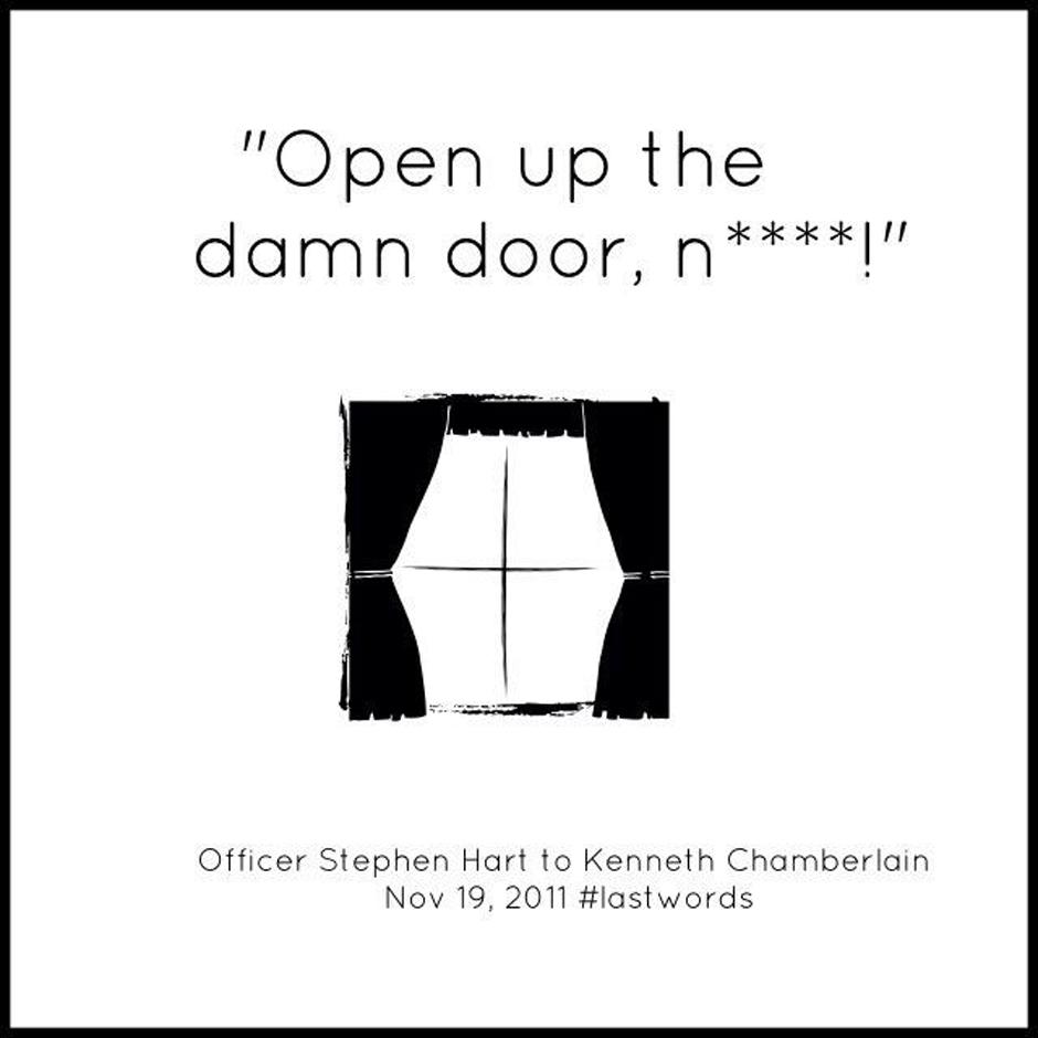 Kenneth Chamberlain – #LastWordsHeard