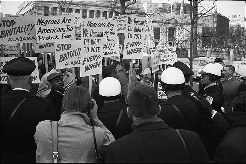 Protest at Whitehouse of Bloody Sunday