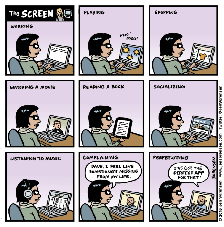 The Screen by Jen Sorensen