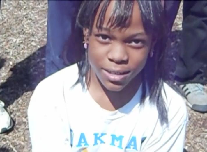 Oakman Student in Oakman T-shirt — Love of School