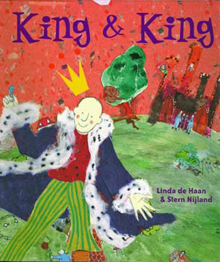 King and King by Linda de Haan & Stern Nijland