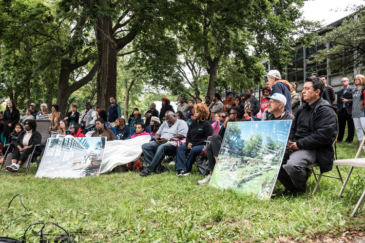 Hunger Strikers stand strong for The Walter H. Dyett Global Leadership and Green Technology High School