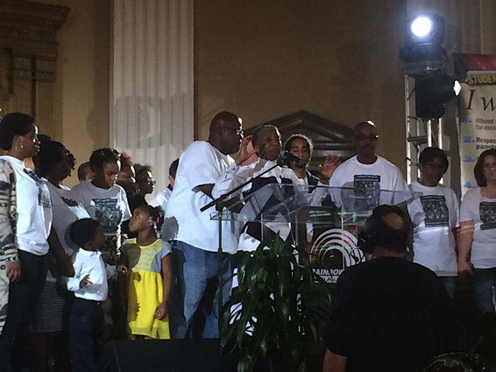 September 19, 2015 Dyett Press Conference, Conversations Continue