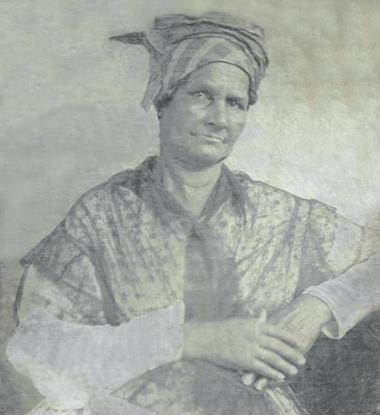 Aimée Potens c. 1844