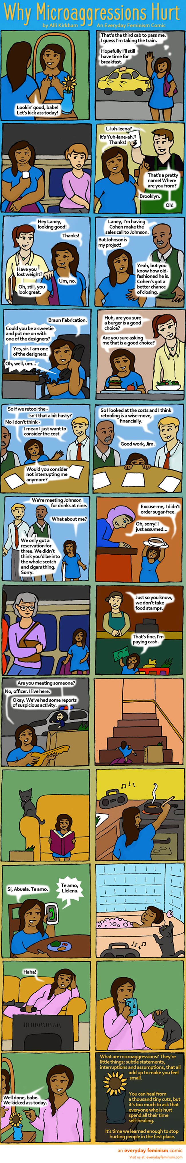 Why Microaggressions Hurt