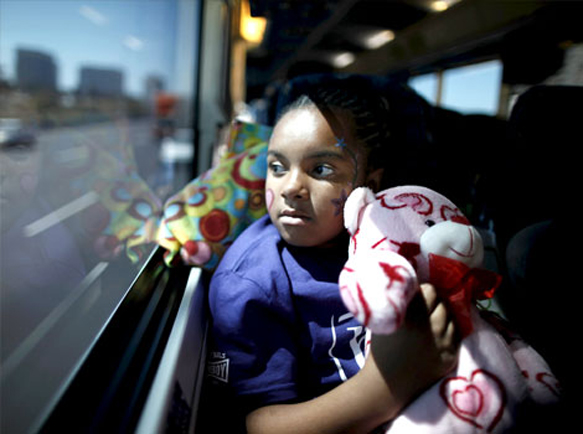 Deep in thought, daughter travels to see Dad in prison