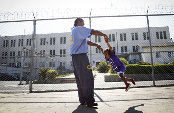 2.7 Million Kids Have Parents in Prison. They're Losing Their Right to Visit