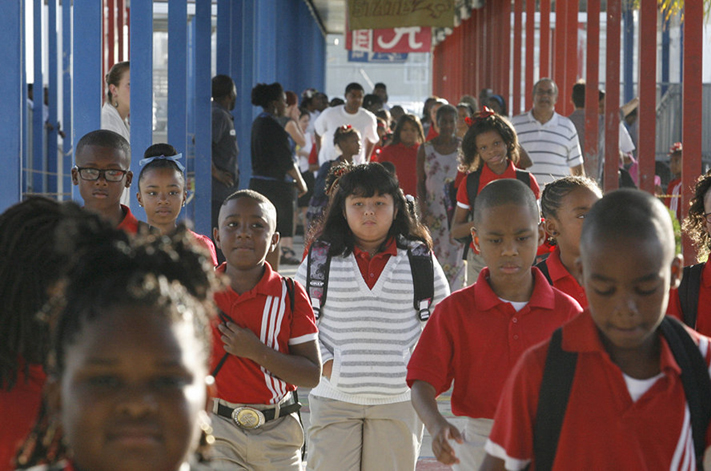 School days just before Hurricane Katrina rewrote history